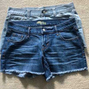 Old Navy Diva shorts-2 pairs